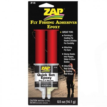 Zap quick set epoxy