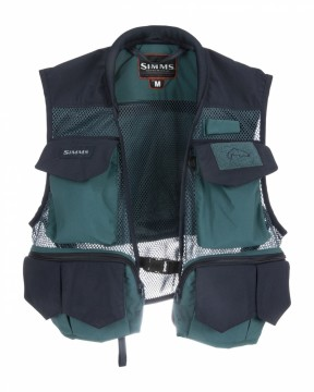 Simms Tributary Vest Deep Sea Green