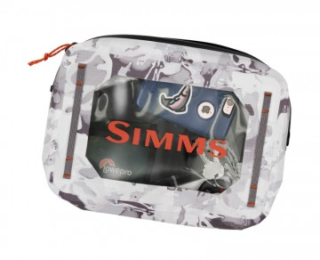Simms Dry Creek Gear Pouch 4 L cloud camo grey