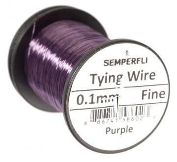Semperfli Ultrafine 0.1mm Wire Thin Purple