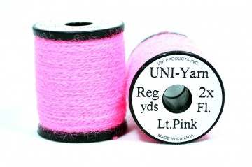 UNI Yarn fluor light pink