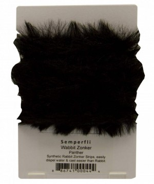 Semperfli synthetic rabbit zonker - panther