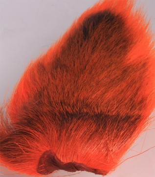 Bucktail large fluo fire orange
