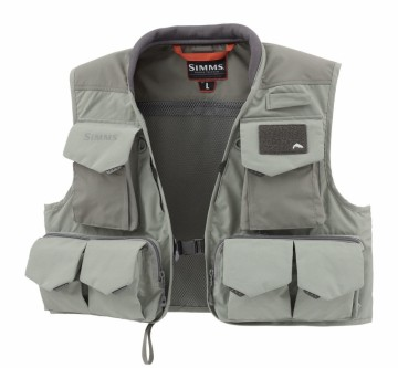 Simms Freestone Vest Striker Grey
