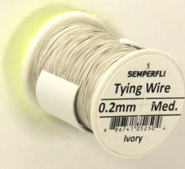 Semperfli Wire 0.2 mm Ivory