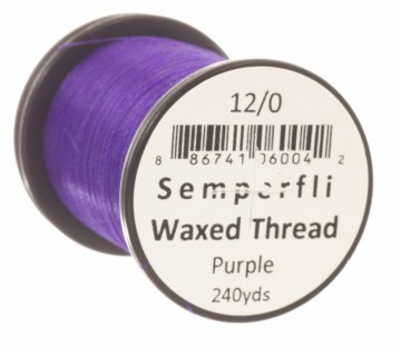 Semperfli bindetråd Classic Waxed 12/0 purple