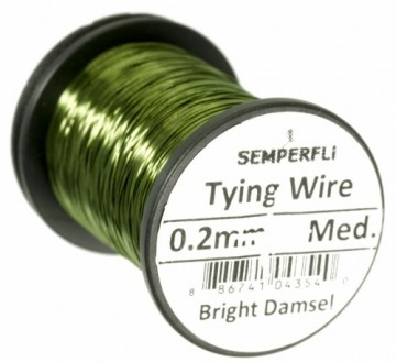 Semperfli Wire 0.2 mm Br. Damsel Green