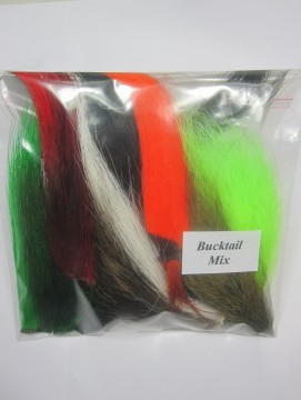 Bucktail mix 8 farger