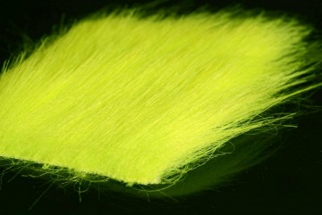 Craft fur chartreuse