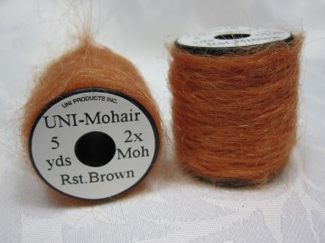 UNI Mohair Rust Brown