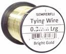Semperfli wire 0,3 mm Bright Gold