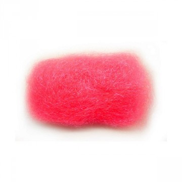 Ice dubbing UV fluor hot pink