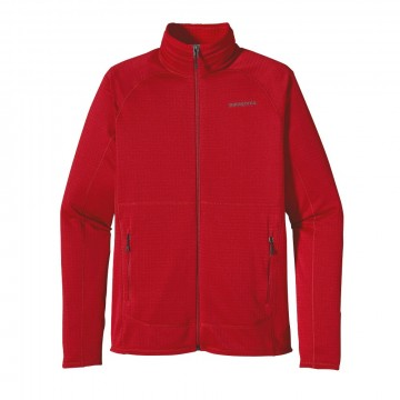 Patagonia Men´s R1 Full-Zip Fleece Jacket fire