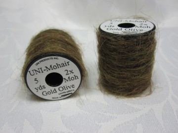 UNI Mohair Gold Olive