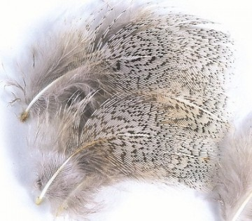 English Partridge Grey Neck Hackles Natural