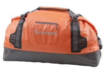 Simms Dry Creek Duffel Orange Large