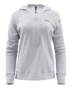 Simms Women Bugstopper Hoody Sterling Heather
