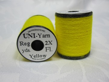 UNI Yarn fluor yellow