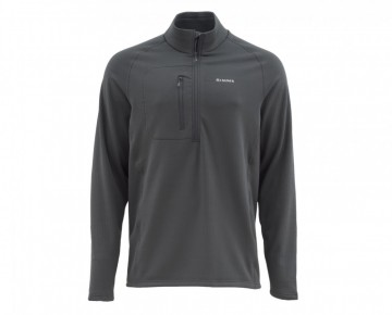 Simms Fleece Midlayer Top Raven