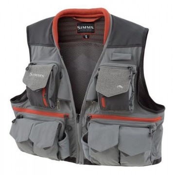 Simms Guide Vest Steel