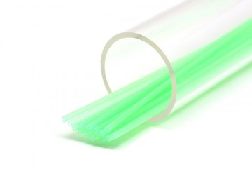 FutureFly Tube Soft Glitter gid green