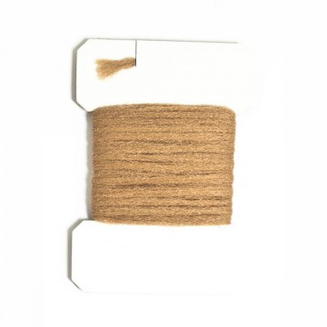 Polyyarn card medium brown