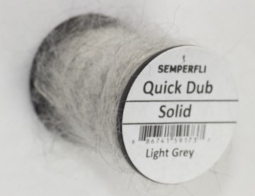 Semperfli Quick Dub Solid Light Grey