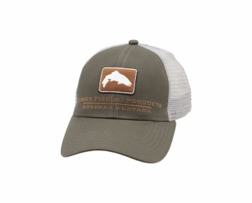Simms Trout Icon Trucker Canteen - Small Fit