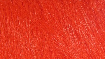 Extra select craft fur #118 fiery hot red