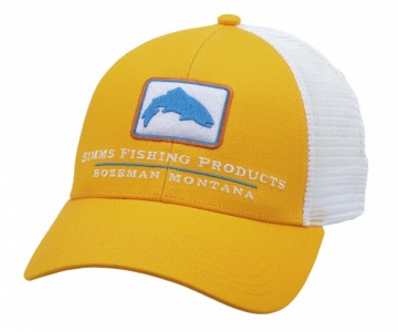 Simms Trout Icon Trucker Straw
