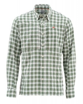 Simms Bugstopper Shirt Kelp Plaid UTGÅENDE