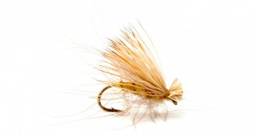 CdC Elk Caddis Yellow #12