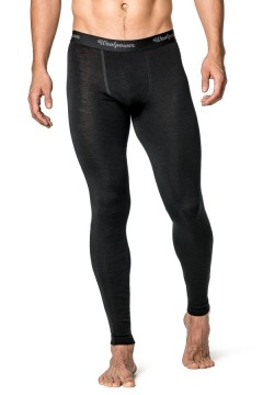Woolpower LITE Long Johns M´s Black