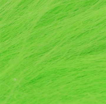 Craft fur large chartreuse