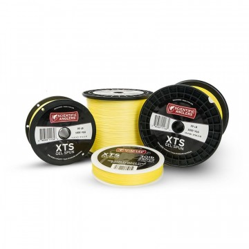 SA XTS Gel Spun Backing Yellow 100yd 30lb