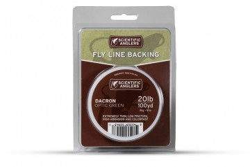 SA Backing Optic Green 100yd 20lb