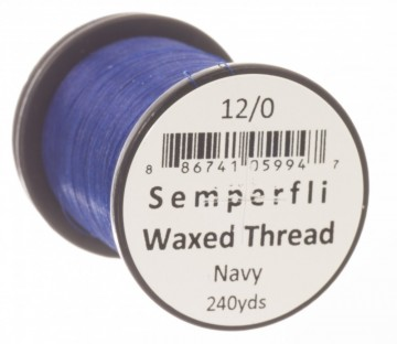 Semperfli bindetråd Classic Waxed 12/0 navy