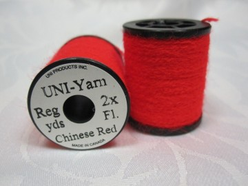 UNI Yarn fluor chinese red