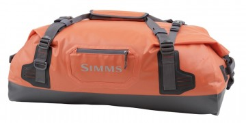 Simms Dry Creek Duffel Orange Medium