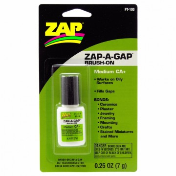 Zap-a-gap brush on