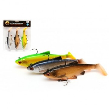 Savage Gear 3D Roach Paddle Tail 7.5cm 9g MiX