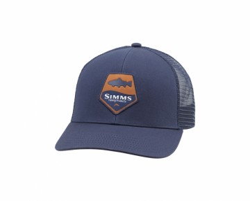 Simms Trout Icon Trucker Admiral Blue