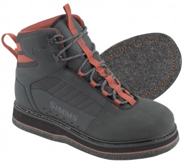Simms Tributary Boot Felt Carbon