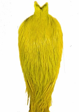 Whiting Coq De Leon Rooster Cape badger fl yellow chartreuse