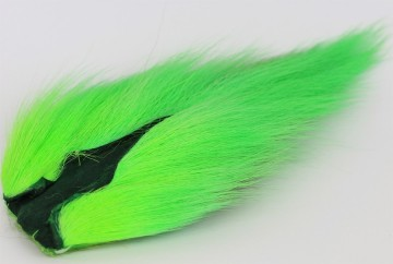 Bucktail large fluo green