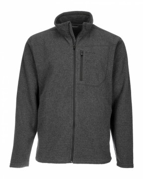 Simms Rivershed Full Zip Carbon