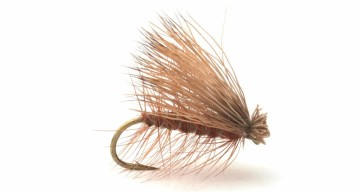CdC Elk Caddis Brown #10