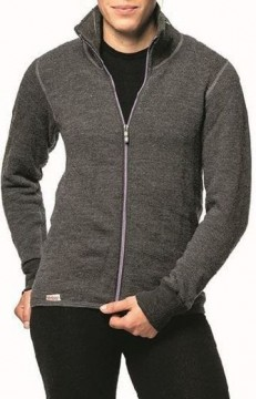 Woolpower Full Zip Jacket 400 Grey