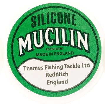 Mucilin solid green silicone line dressing