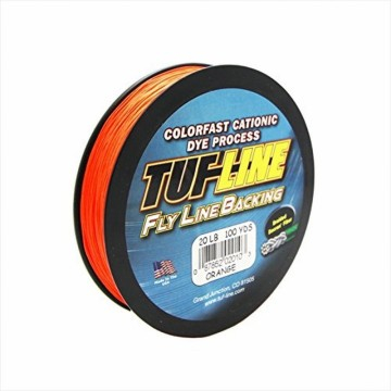 TUF FLYLINE BACKING 30lbs 91m Chatreuse.